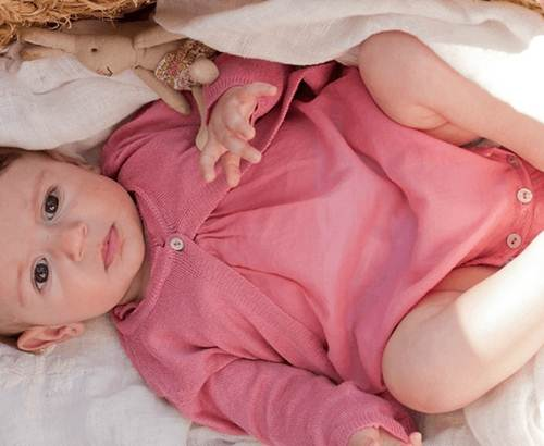 moda infantil: ranita rosa -chulakids