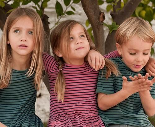 moda infantil: vestidos a rayas -chulakids