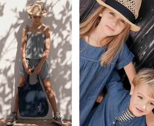 moda infantil: conjunto vaquero -chulakids