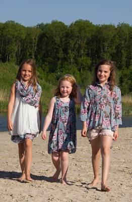 ropa infantil online: estampado flores