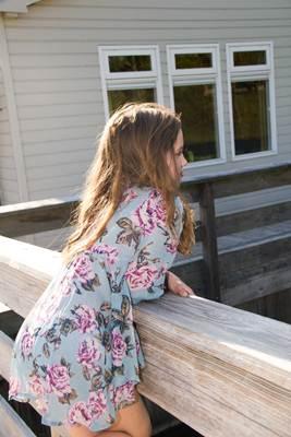ropa infantil online: camiseta flores