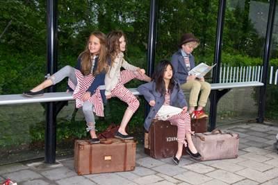 ropa infantil online:  conjunto rayas