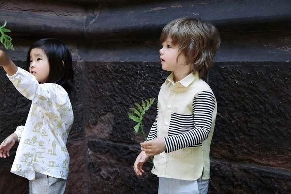 ropa infantil: camisa rayas 2-chulakids