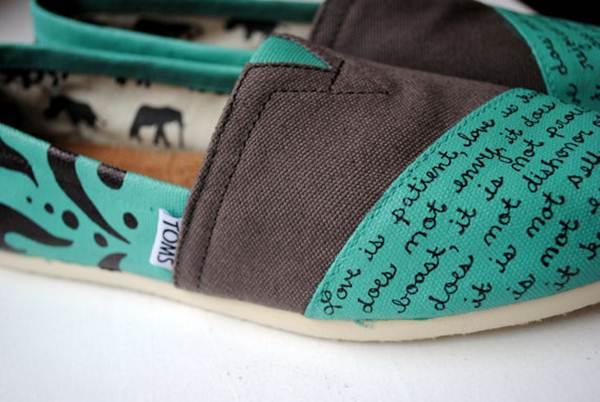 zapatillas de lona: figuras