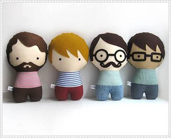 muñecos de trapo: chicos