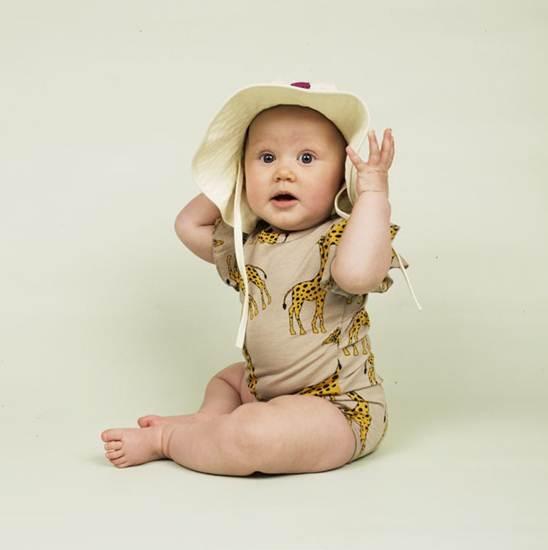 ropa infantil: pelele jirafas