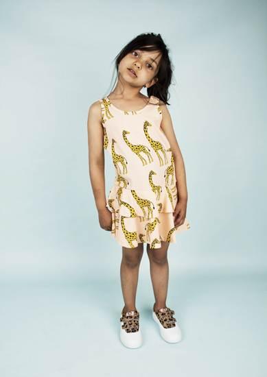 ropa infantil: vestido jirafas