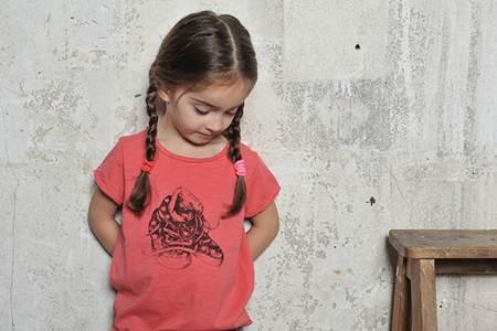 ropa para niños: camiseta rosa