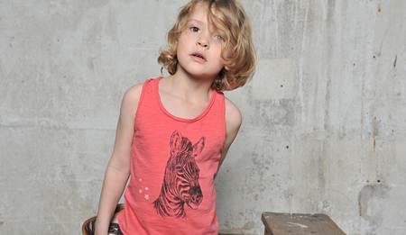 ropa para niños: camiseta tirantes rosa