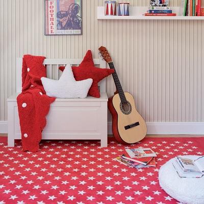 alfombra de estrellas en Lorena Canals
