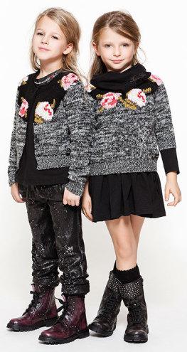 conjunto negro y gris en Twin-Set