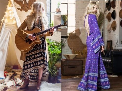 vestidos hippies para mamas en spell desings