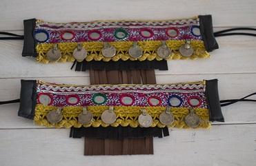 cubrebotas doble fleco de hadas y cuscus