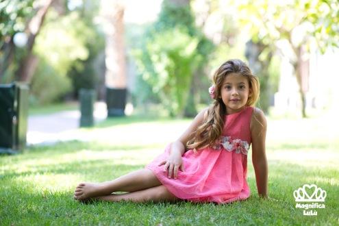 vestido de niña magnífica lulú