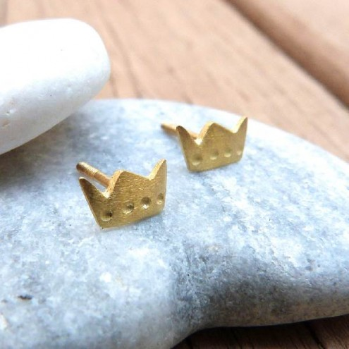pendientes-bebe-diferentes-originales-diferentes-pendientes-nina-pendientes-rosca-corona-princesa-oro-amarillo-tass-joies-chulakids