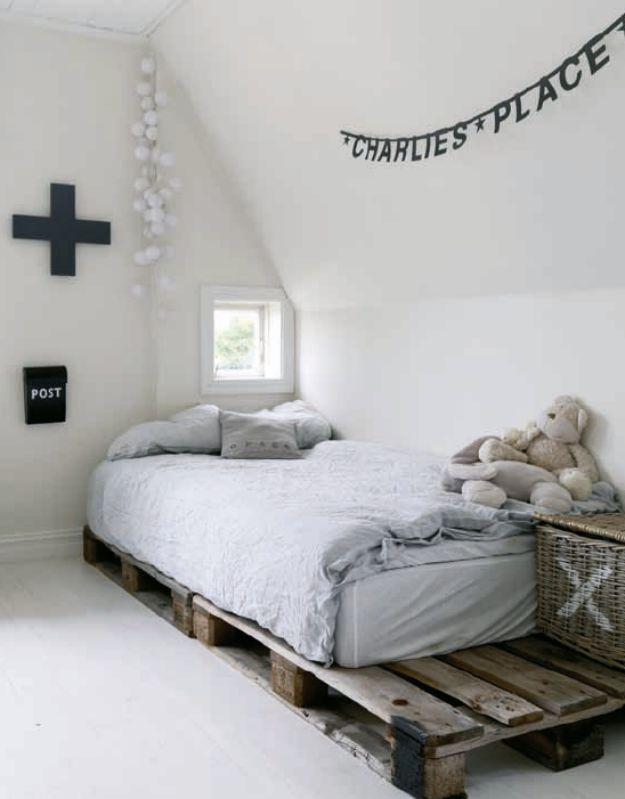 Habitaciones infantiles blancas: pura inspiración nórdica