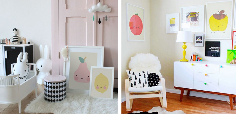 Cuadros infantiles para habitaciones divertidas - Cuadros para habitaciones infantiles ...