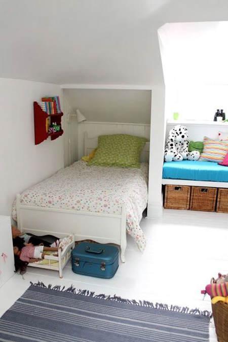 Habitaciones infantiles peque as aprovecha todo el espacio for Habitaciones pequenas aprovechar espacio