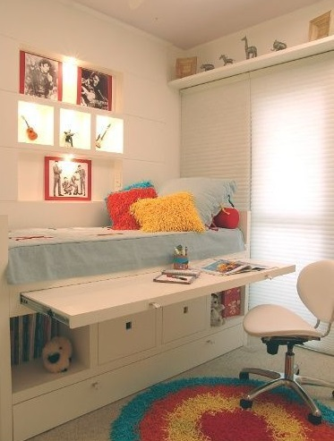 Habitaciones infantiles peque as aprovecha todo el espacio - Muebles infantiles para habitaciones pequenas ...