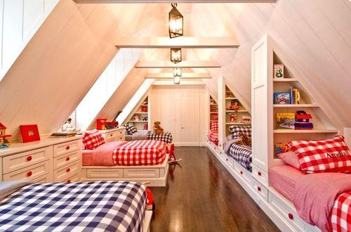 habitaciones infantiles compartidas chico chica chula kids
