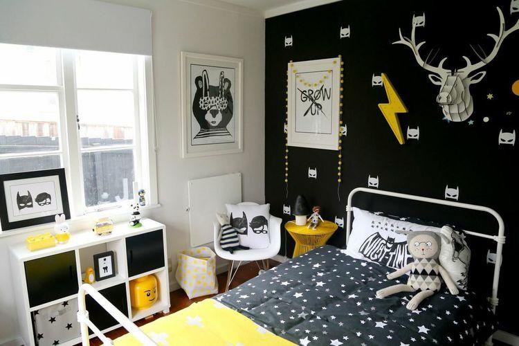 Cuadros infantiles en blanco y negro - Habitaciones infantiles en blanco ...
