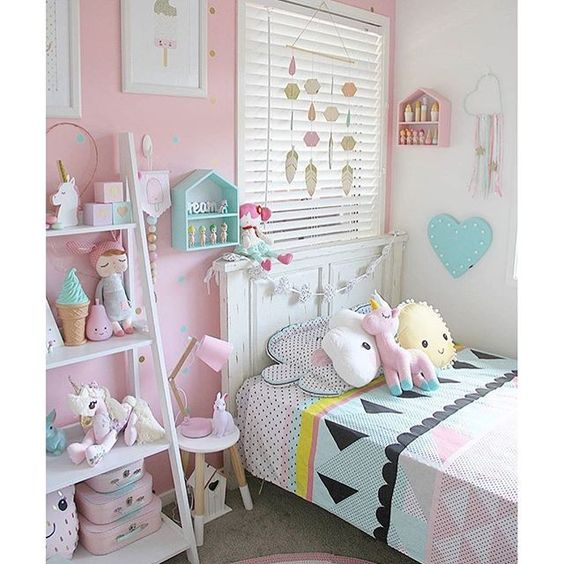 Pastel Colors Kids Room: Habitaciones Infantiles En Colores Pastel